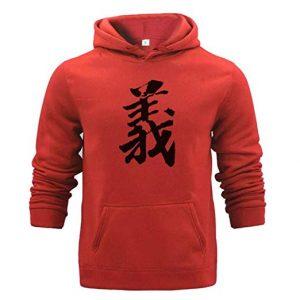 Sudaderas con Letras Chinas