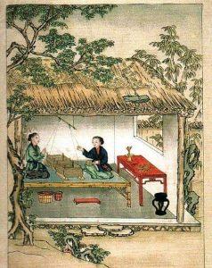 El Origen de la Seda en China