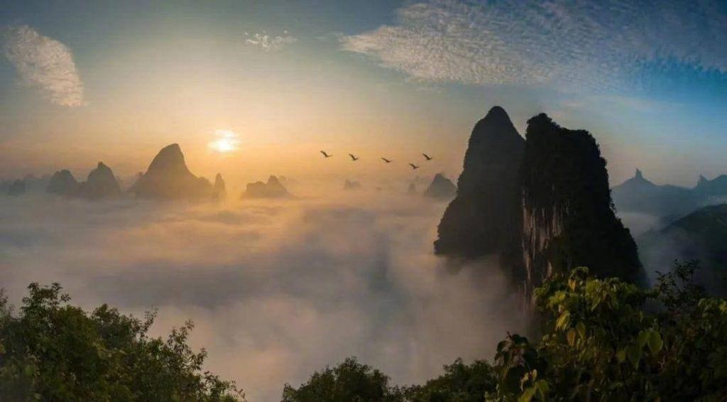 Amanecer Yangshuo