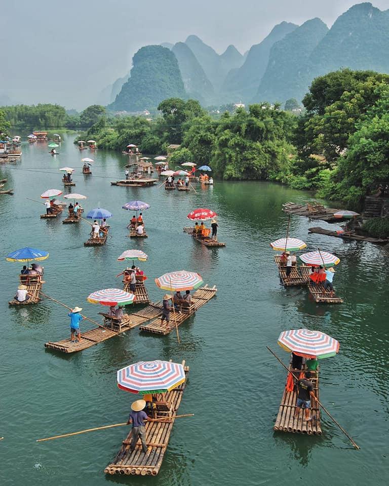 Rafting río Yulong