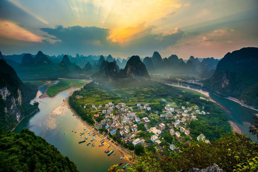 Río Li desde Laozhai