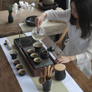 Utensilios y accesorios para el té chino