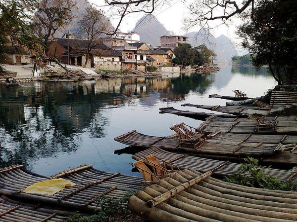 Jiuxian Village River
