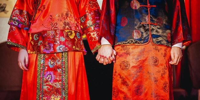El color rojo en las bodas chinas