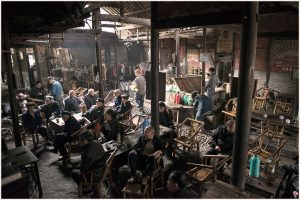 La casa de té más antigua de China: Guanyin Pavilion