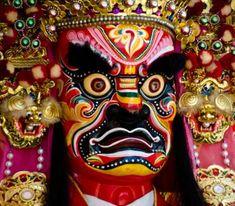 Máscara Deidad China