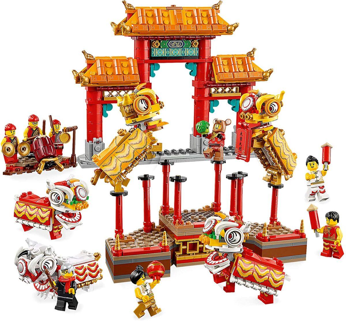 Juguetes de Construcción Arquitectura China