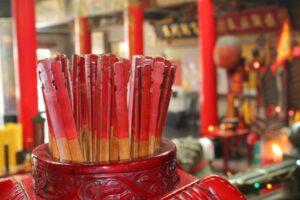 Palitos chinos de las fortuna