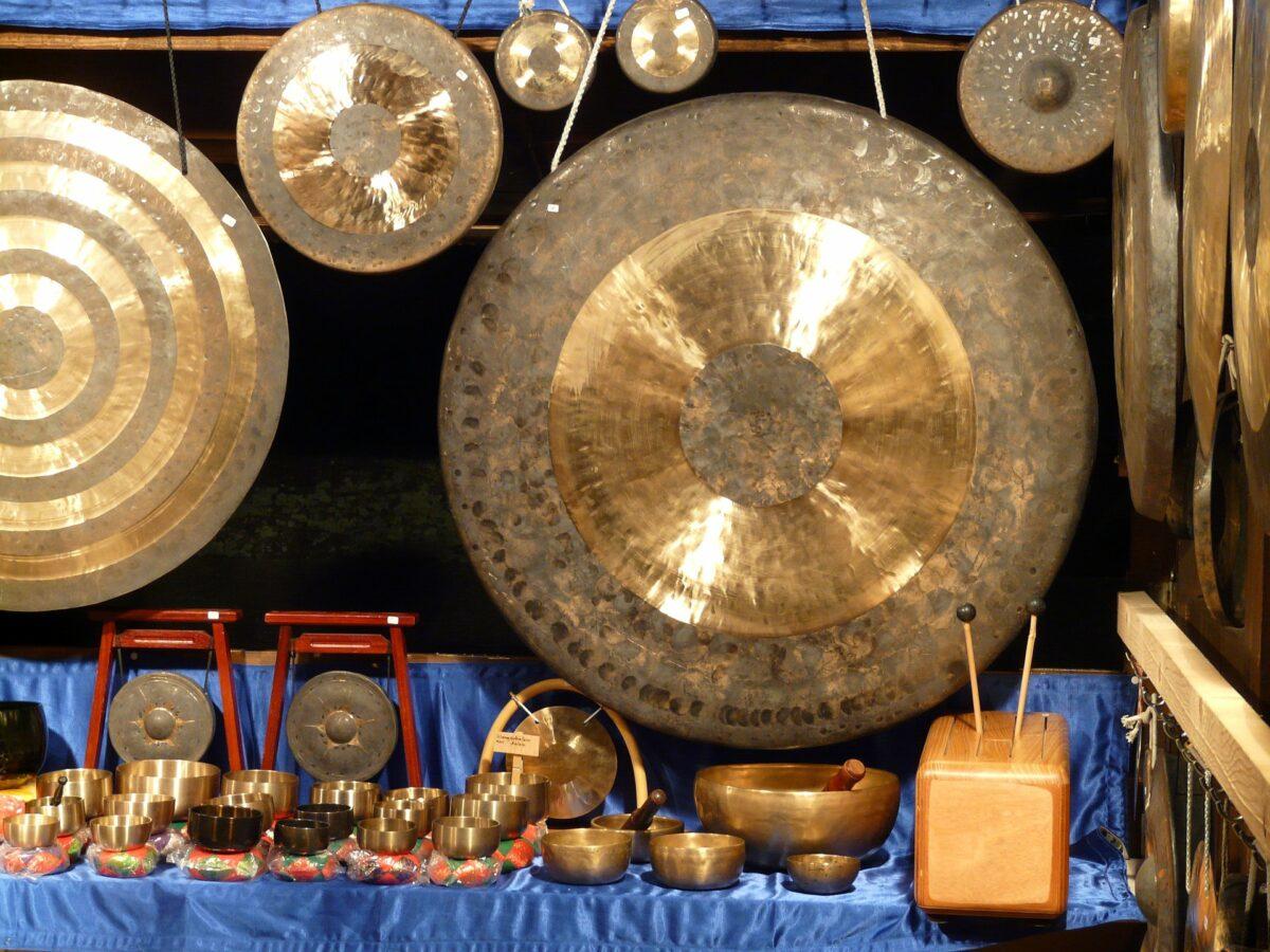 El milenario gong chino