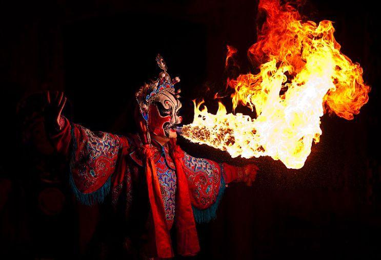 Actor Ópera de Sichuan