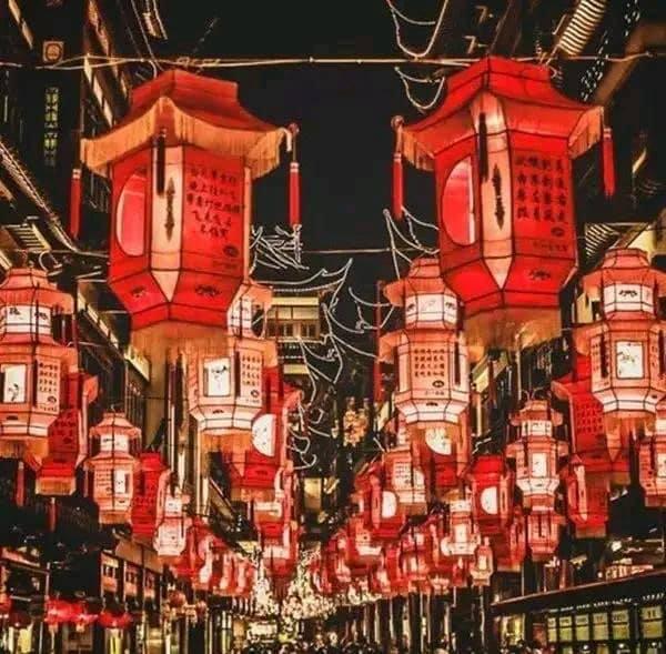 Color rojo Año Nuevo Chino